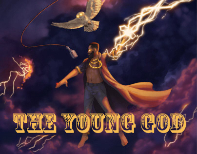 The Young God podcast cover art