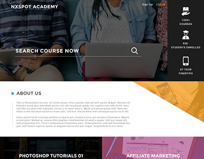 NX Academy Learning and Online Courses Web Platform