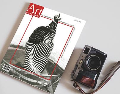 Art & Antiques Magazine Redesign
