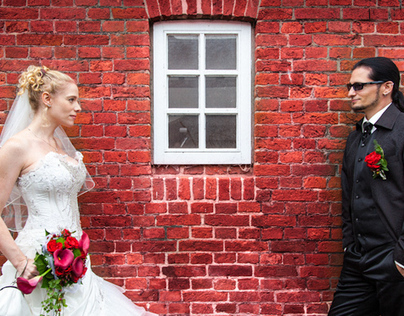 Eine Hochzeit in Burhave, Butjadingen