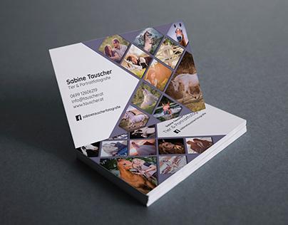 Sabine Tauscher Fotografie Visitenkarte