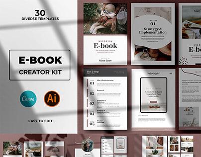 CANVA Abstract Ebook Templates