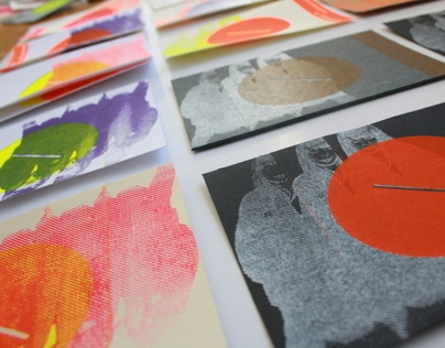 Sequenciadeimagens Cards Silkscreen