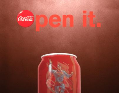 Coca Cola Ad.