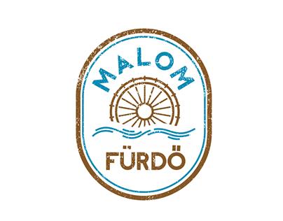 Malom Fürdő logotipo