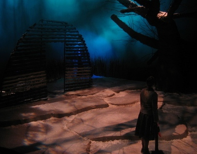 By the Bog of Cats, Scenic Design
