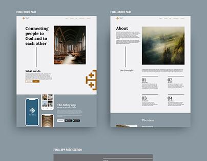 Collegiate Abbey Web Design
