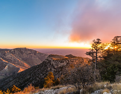Landscapes Guadalupe Mountains