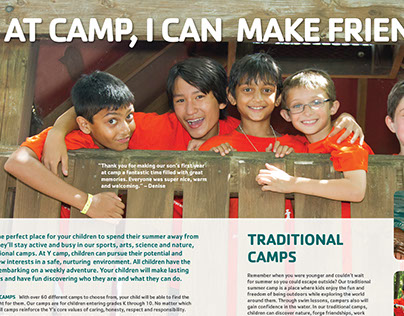 YMCA Camp Brochure
