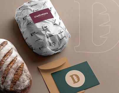 Di Salvatore | Redesign de marca e embalagens