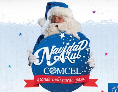 Navidad Azul Comcel