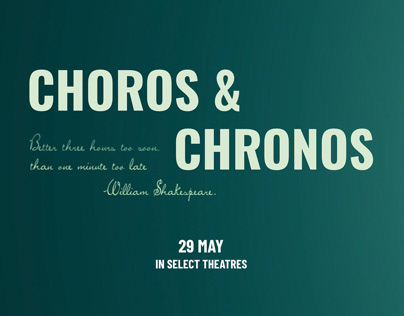 CHOROS & CHRONOS - Title sequence