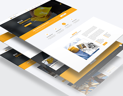 Constructo - Material Design Agency Template