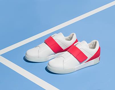 FILA RED&WHITE