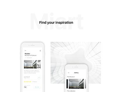 Miart City App for Adobe #IconContestXD
