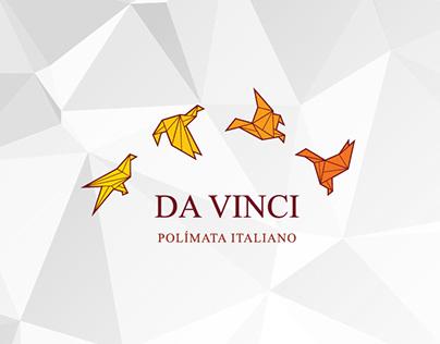 Desarrollo de marca y papelería DA VINCI