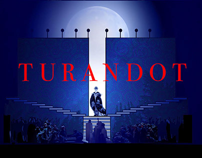 Turandot Set Design