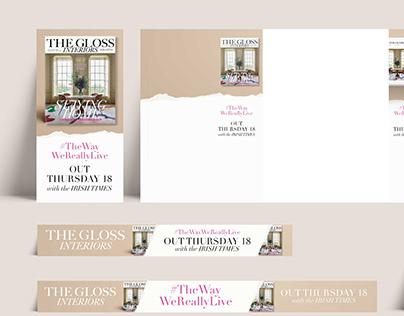 The Gloss Magazine Web Banners