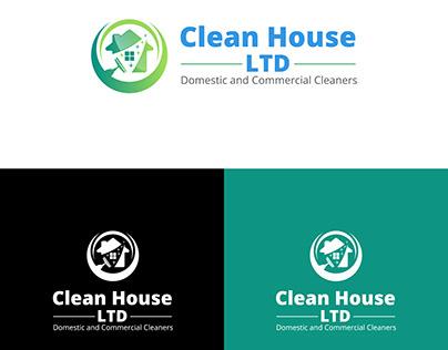 Logo, Business Card & Flyer Design Of Clean House LTD.