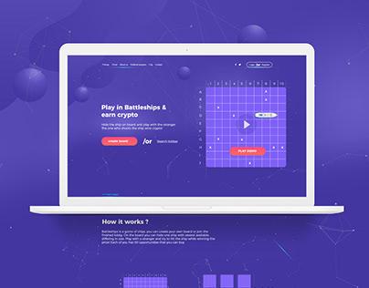 shipscoin - website design