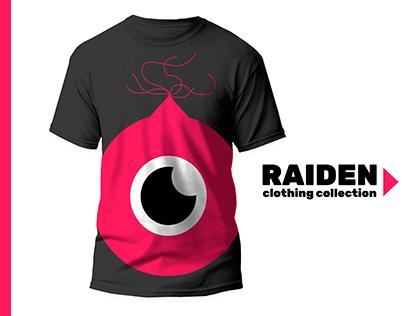 T- shirt Design Raiden