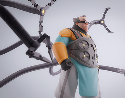Doctor Octopus Fanart