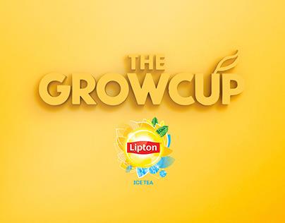 THE GROWCUP para LIPTON ICE · Producto de comunicación