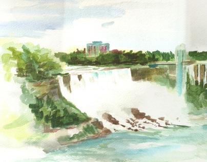 Bridal Veil Falls, Niagara