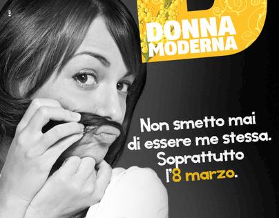 ADV - DONNA MODERNA by Mondadori