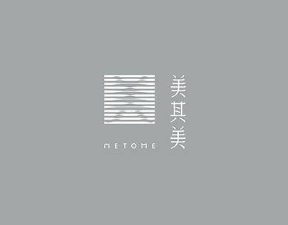 Metome logo design