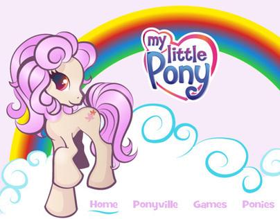 My Little Pony Mock Website