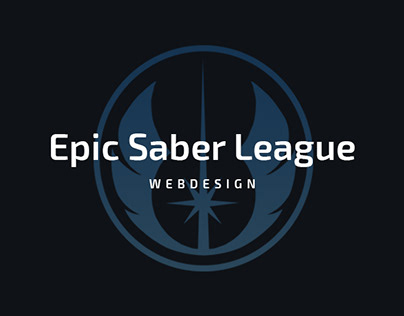 Epic Saber League Webdesign
