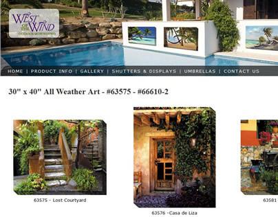 Outdoor Art Website