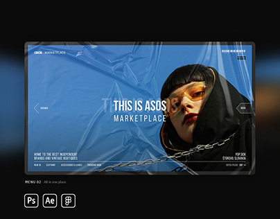 ASOS Marketplace Redesign