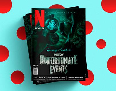 Revista Netflix   Design Editorial