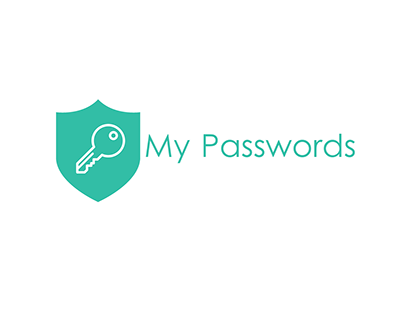 My Passwords - Mobile application