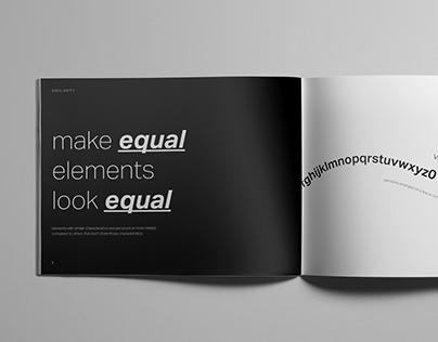 GESTALT Principles Typography Book