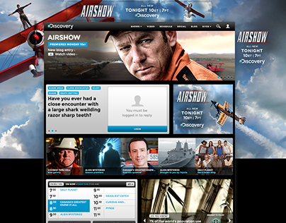 Discovery Homepage Takeovers