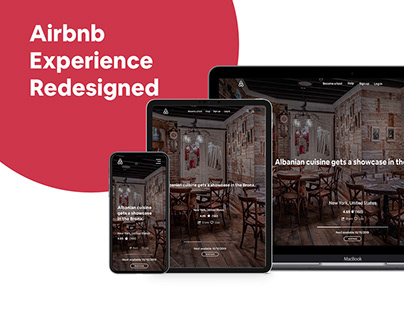Airbnb Experience Redesigned