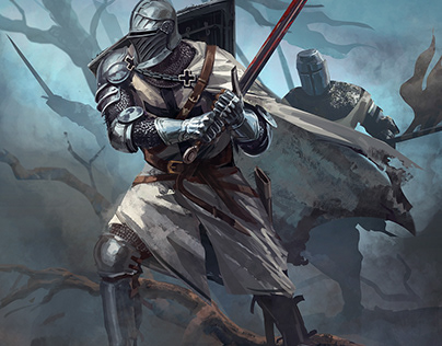 Teutonic Knight for Joan of Arc boardgame
