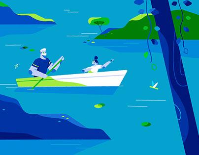 Canoe Styleframes