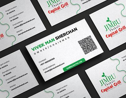 Business Card Design Jimbu