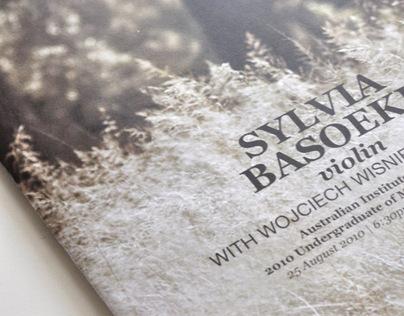 Final Music Recital Program Booklet