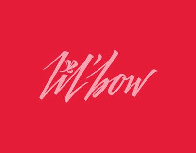 lil' bow - DJ logo