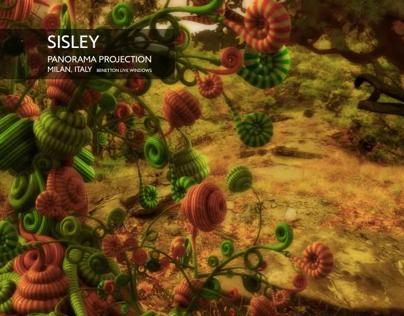 Sisley, Panorama projection