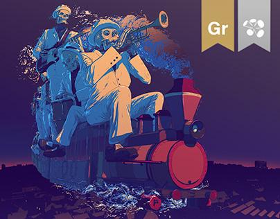 Pannonia Allstars Ska Orchestra / Ghost Train
