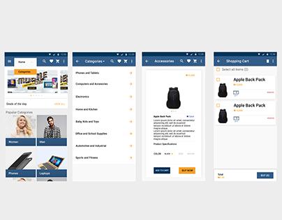 Konga App (Material Design) - SGA0.2 Week 5