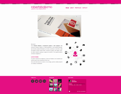Robertabalsamo.net | Graphics and web design portfolio