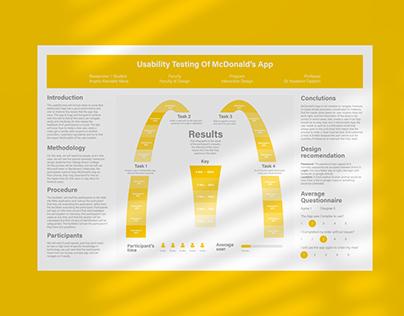 Usability Test Plan McDonald's App