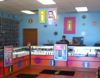 i-wireless Store Remodels and Merchandising